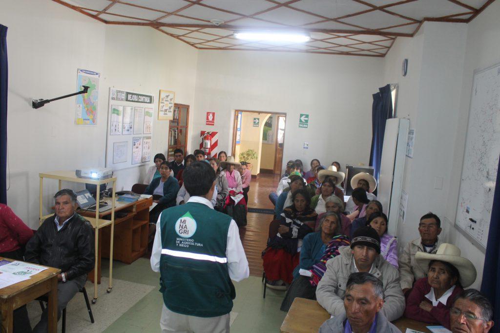SENASA - Capacitación Cajamarca