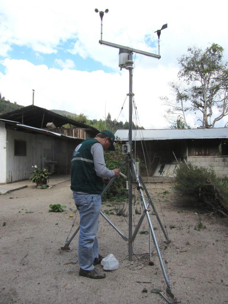 Estación Meteorológico en Gramazú