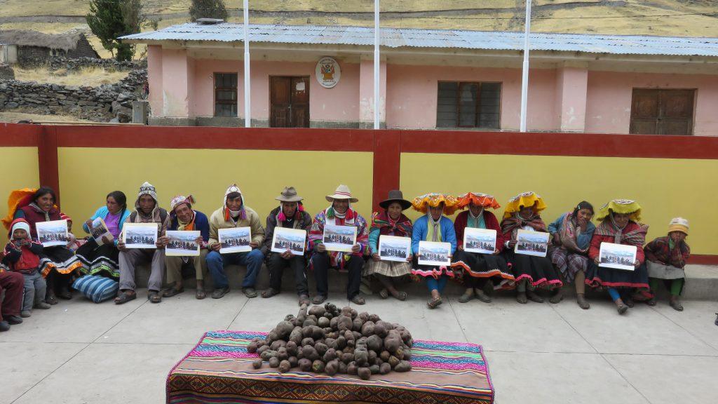 Escuela de Campo de Agricultores del SENASA Cusco