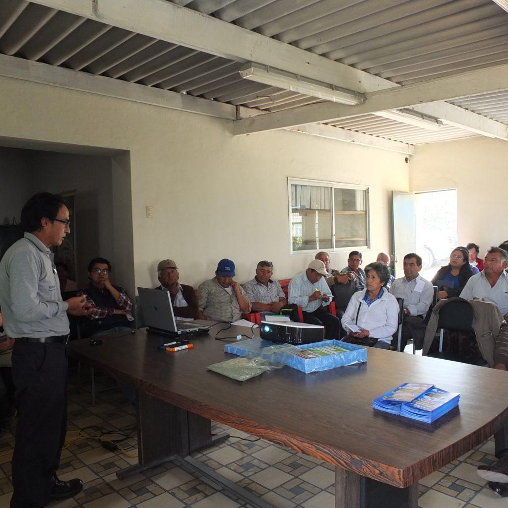 Mesa de Trabajo en Huarochirí