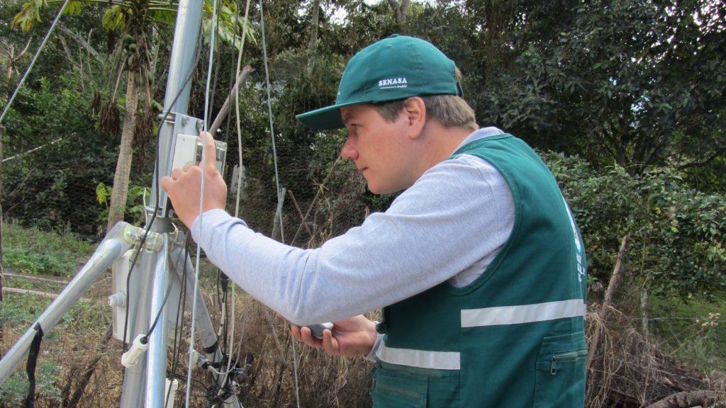 Transferencia de datos - Estación Meteorológica - Gramazú