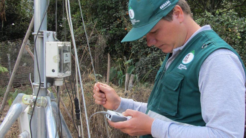 Transferencia de datos - Estación Meteorológica - Gramazú 5
