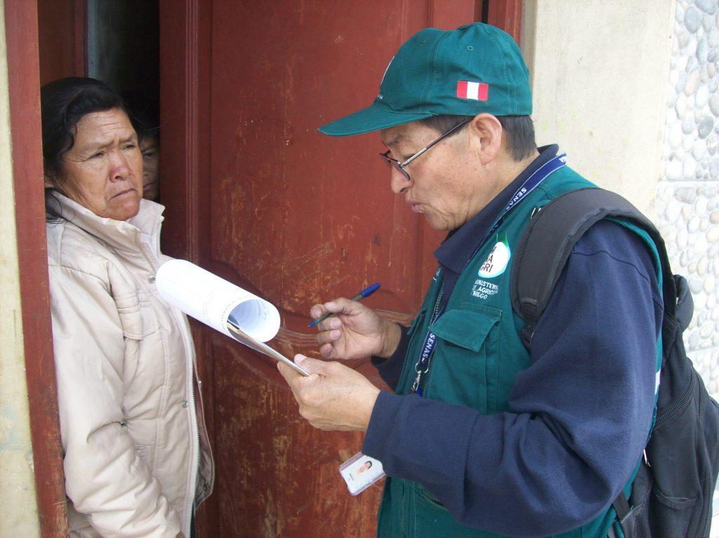 Encuesta de inocuidad en Cajamarca