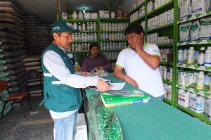 Inspección Plaguicidas de Uso Agrícola