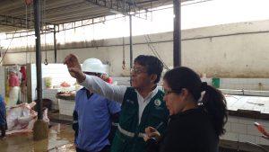 Evaluación sanitaria en Camal Municipal de Huaral