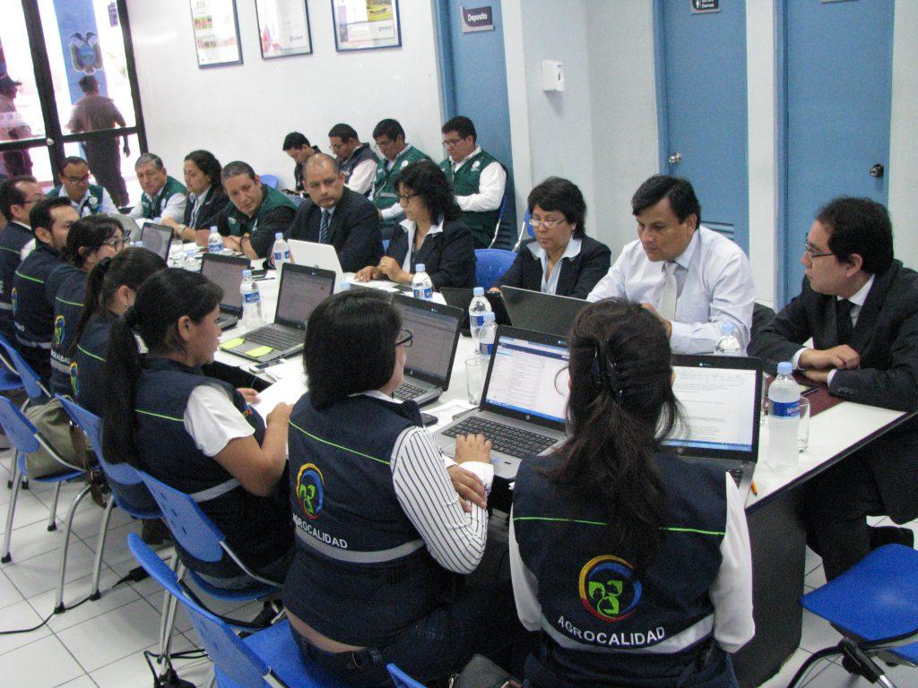 Reunión Binacional Senasa y Agrocalidad de Ecuador