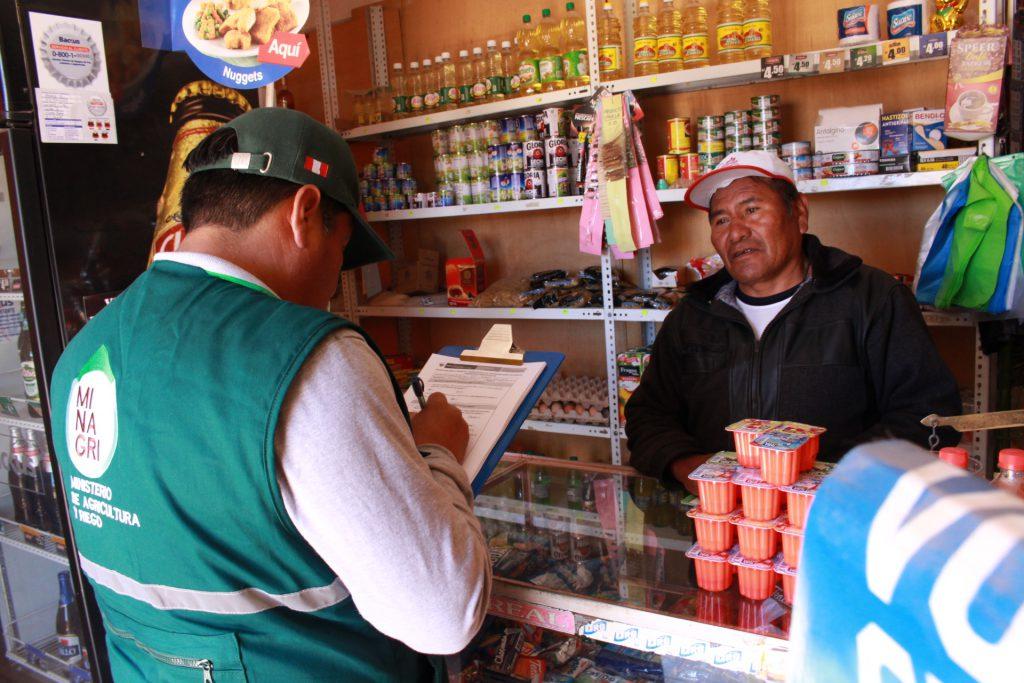 Encuesta de Inocuidad en Puno