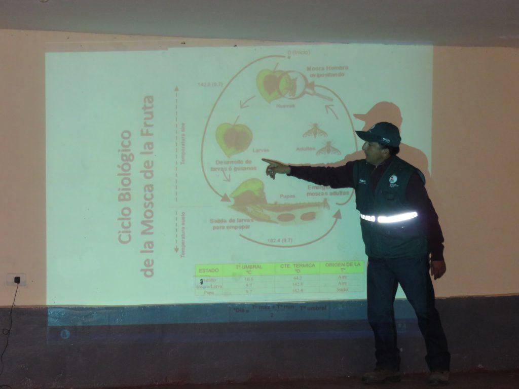 Capacitación a agricultores de Mollepata