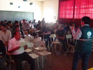 Capacitación en Tacna