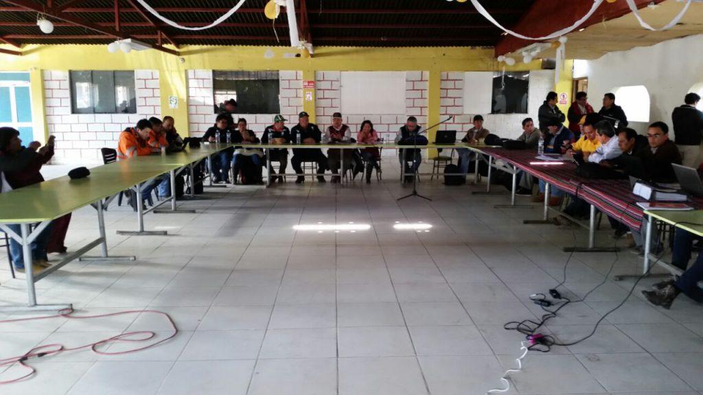 Mesa de Desarrollo de Challhuahuacho
