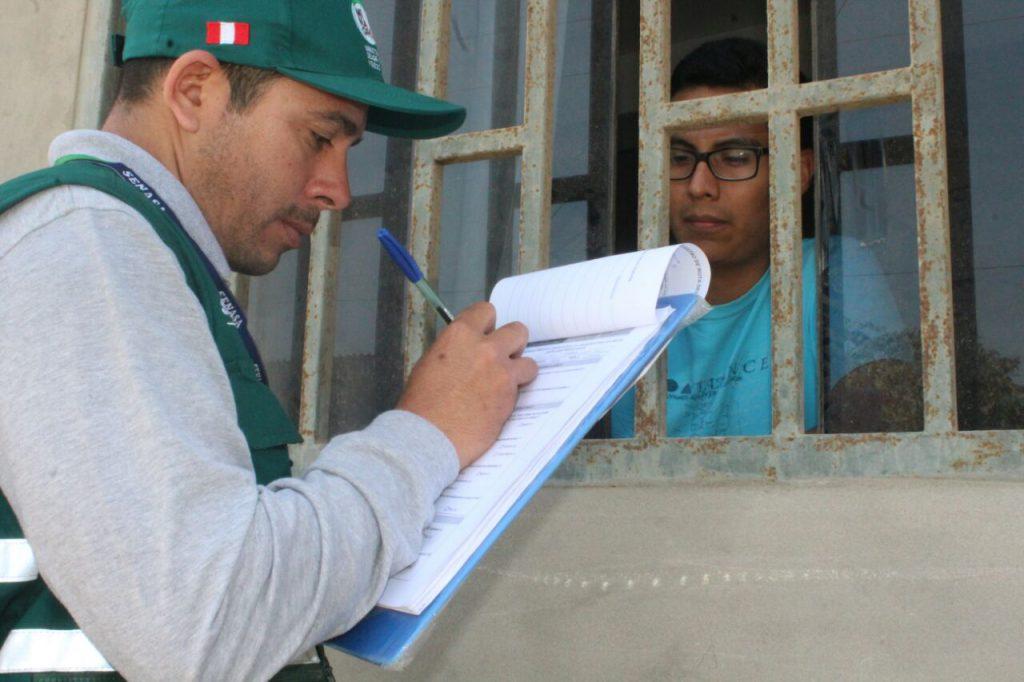 Encuesta de inocuidad en Lambayeque