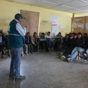 Capacitación del Senasa en Cusco