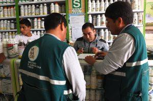 Senasa, SUNAT y PNP realizan operativo en provincia de Canta
