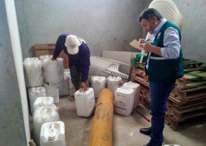 Senasa: Seguimiento y verificación de plaguicidas importados en Áncash