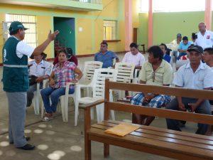Capacitaciones del Senasa benefician a productores de arroz