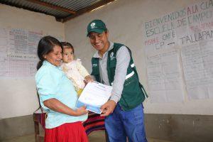 Senasa - Clausura de Escuelas de Campo de Agricultores en Cañaris y Salas