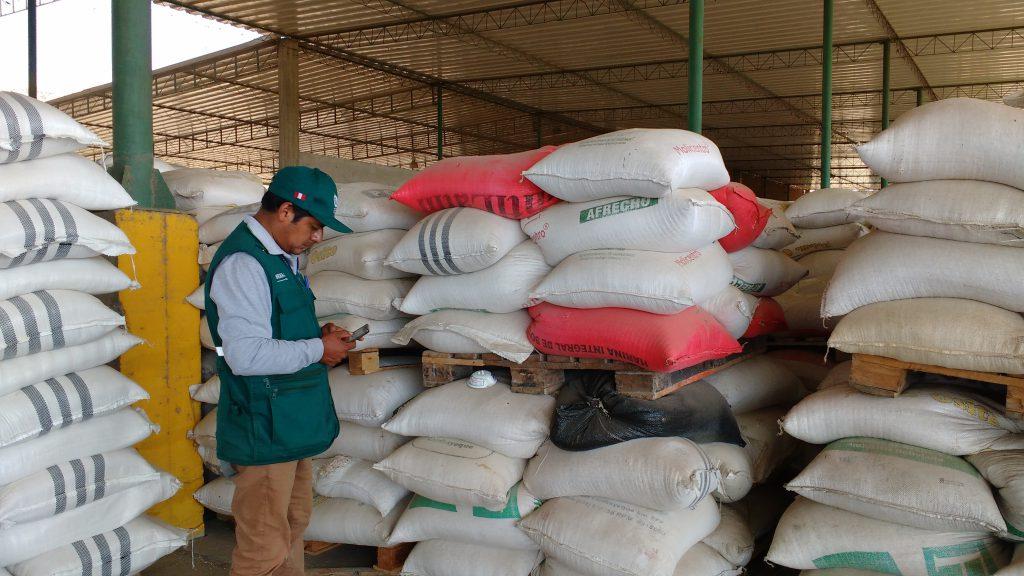 Senasa: - Monitoreo preventivo en granos almacenados