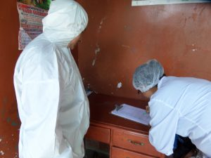 Senasa - Inspección de centros de faenamiento de aves en Cajamarca