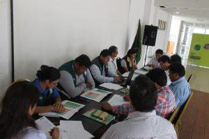 Senasa coordina elaboración del plan de acción del Comité de Gestión Agraria de Selva Central