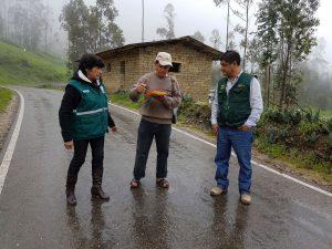 Senasa atiende a agricultores afectados por lluvias en Cospán