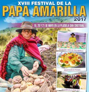 Senasa formará parte del jurado en XVIII Festival de la Papa Amarilla
