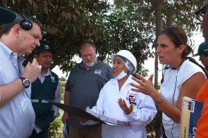 Servicio de Inspección Animal y Vegetal de EE.UU. supervisa actividades del Senasa