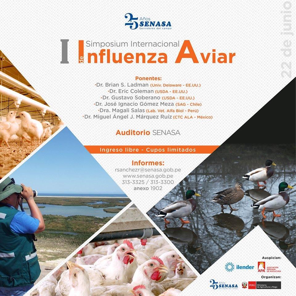 I Simposium Internacional de Influenza Aviar