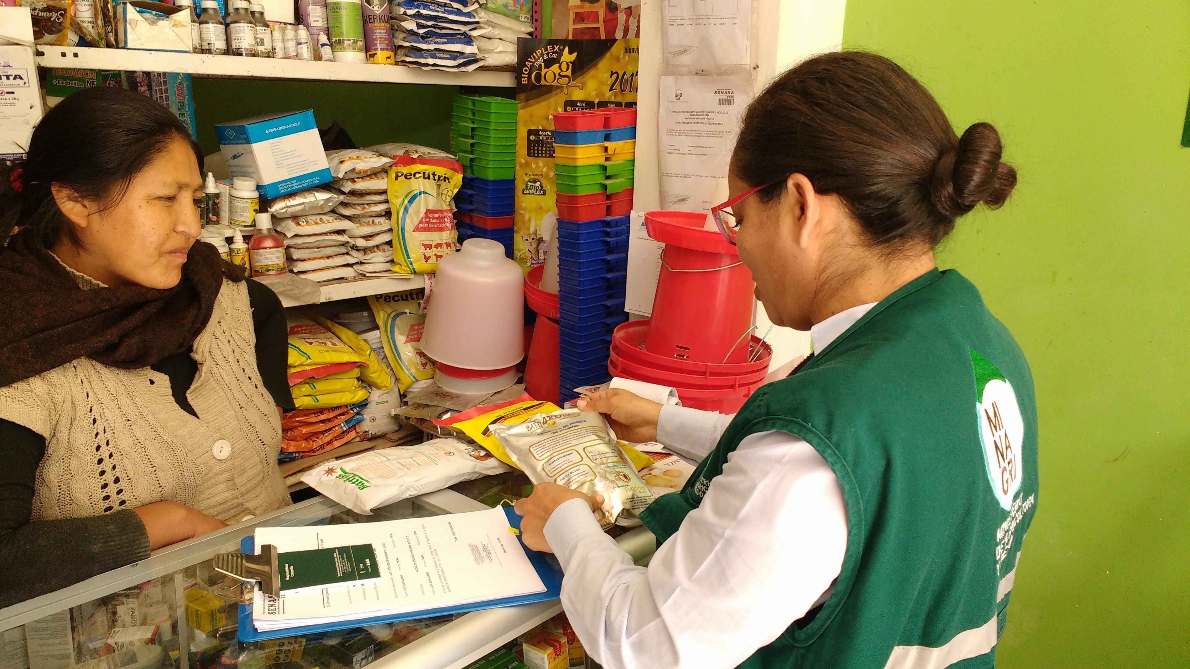 Inspección establecimiento productos veterinarios