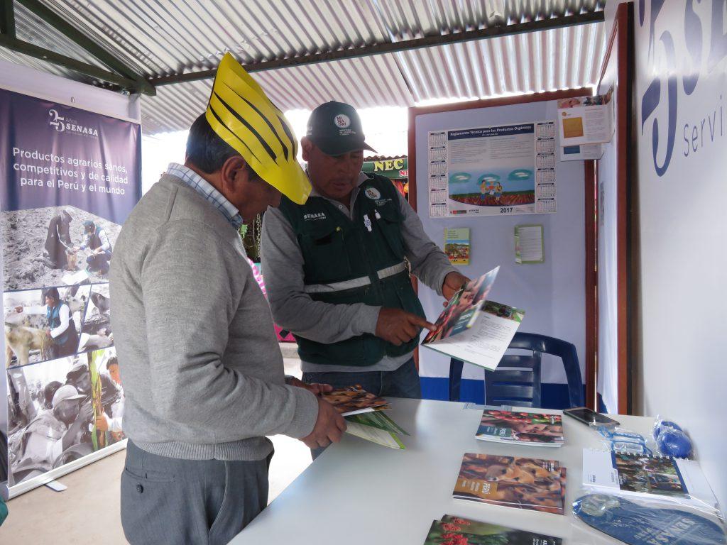 Senasa: Acciones sanitarias se presentan en Expo Feria Huancaro 2017