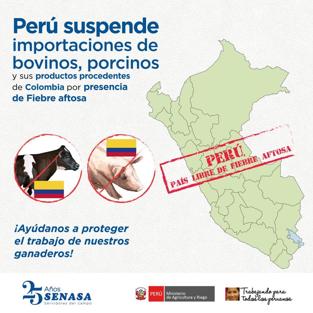 PERU SUSPENDE IMPORTACION DE COLOMBIA-01