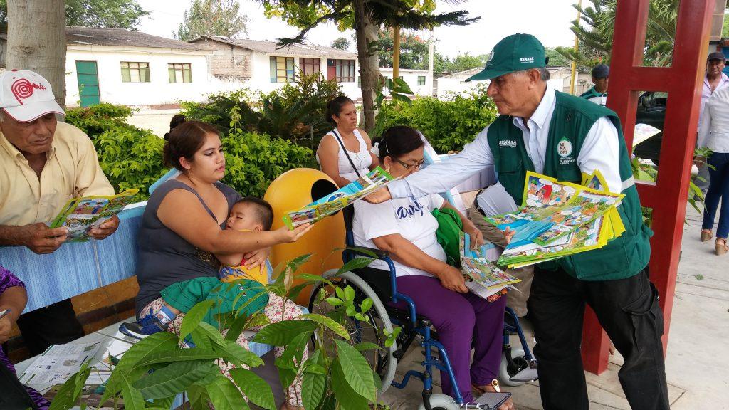 Senasa brinda sus servicios en Sanidad vegetal y animal a agricultores en actividades por el Día del Campesino