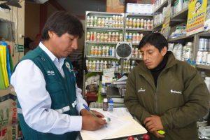 Senasa - Inspeccion de agroquimicos en Huanuco