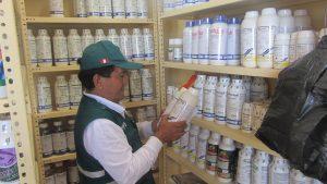 Senasa - Inspeccion de establecimientos en provincias de Bagua y Utcubamba