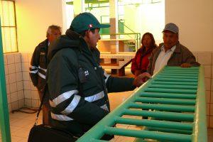 Senasa inspecciona matadero de camelidos para autorizacion sanitaria