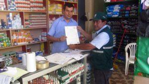 Senasa otorga autorización sanitaria a establecimientos comerciales de plaguicidas de uso agrícola