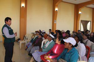 Senasa refuerza vigilancia sanitaria de los alimentos con participación de municipios de Junín
