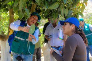Senasa inicia formación integral de evaluadores de plagas en Chasquitambo