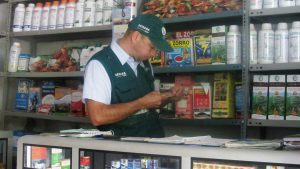 Senasa - Inspección de establecimientos de venta productos veterinarios en Utcubamba