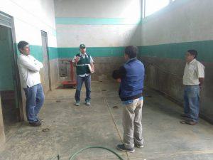 Senasa - Inspeccion de mataderos en Amazonas