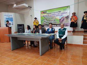 Senasa participa del lanzamiento de la campaña de instalación de pastos cultivados