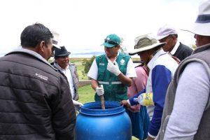 Senasa promueve el uso de control biológico en cultivos puneños