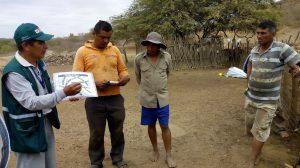 Tumbes Senasa instruye a ganaderos de Tacural en el control de enfermedades clostridiales en ganado caprino