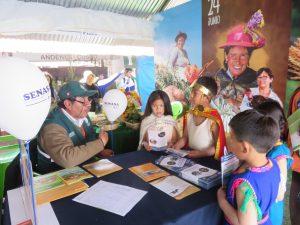 MINAGRI presenta acciones sanitarias en Expo Cusco Huancaro 2018