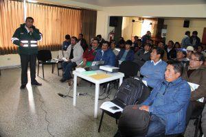 Productores de quinua de Puno interesados en mejorar su producción orgánica