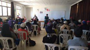 Senasa atiende a productores de comunidades andinas de Piura