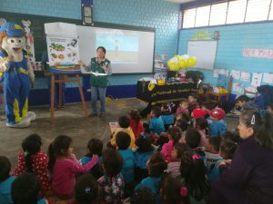 Senasa desarrolla acciones de edu – entretenimiento en instituciones educativas de Chancay