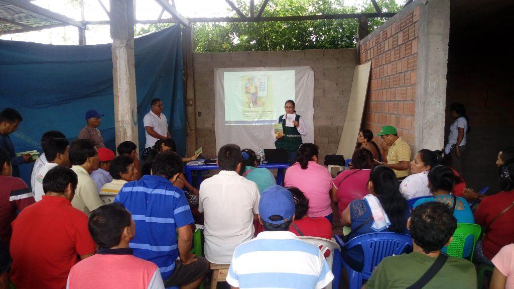 Productores de Ucayali capacitados en normatividad y uso seguro y responsable de plaguicidas 1