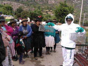 Senasa - Conforman comités para el control de roedores en Fajardo y Sucre
