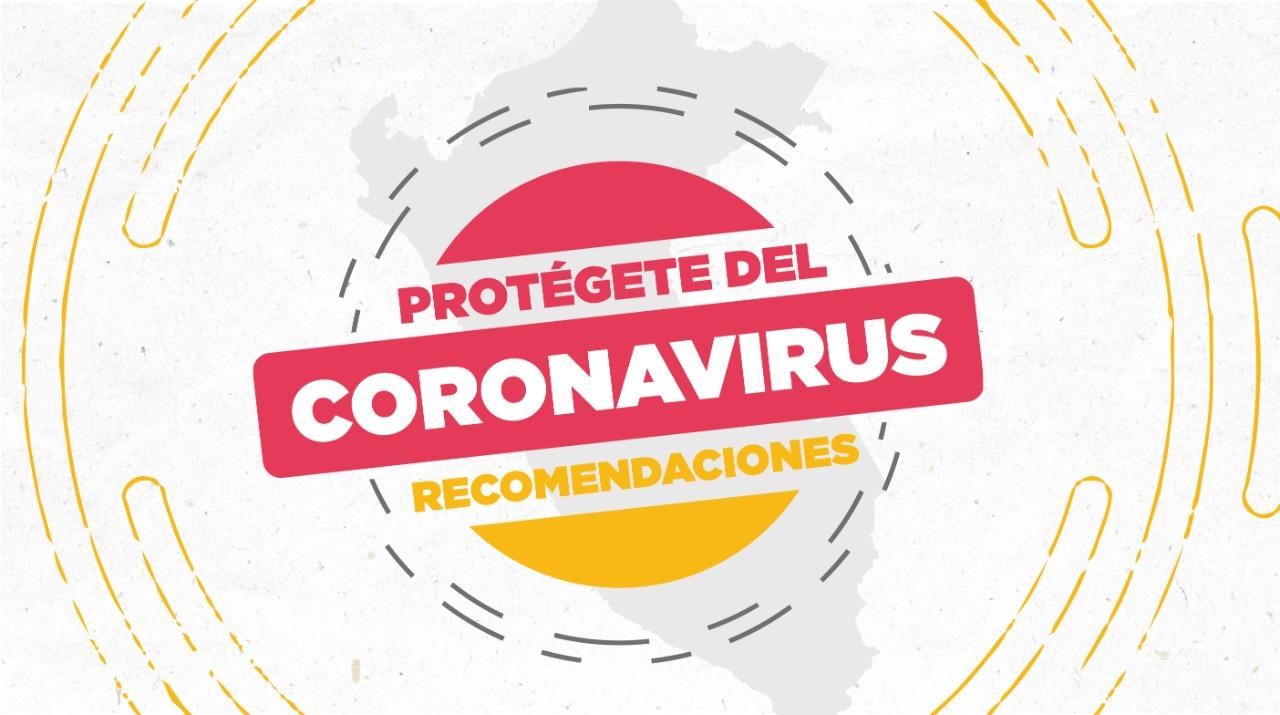 Conoce las recomendaciones para prevenir el Coronavirus - SENASA ...